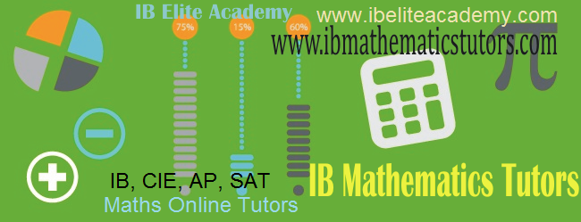 IB Mathematics Tutors
